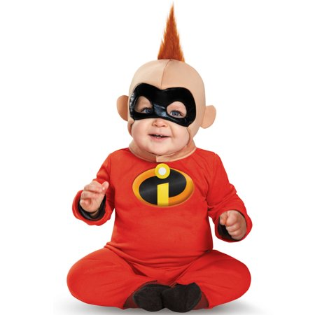 The Incredibles Baby Jack Jack Deluxe Infant Costume (Red Incredible Hulk Halloween Costume)