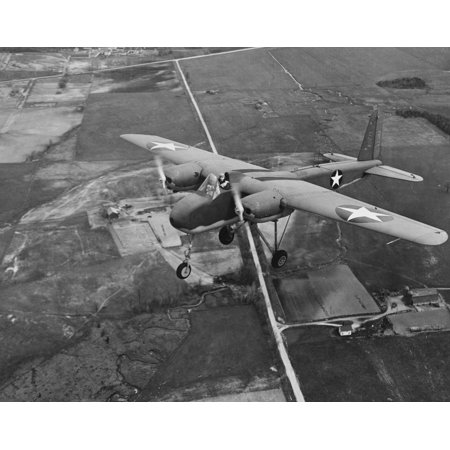 Halloween Store Traverse City (LAMINATED POSTER on its first (piloted) flight, near Naval Air Station Traverse City, Michigan (USA), on 19 May 1943 Poster Print 24 x)