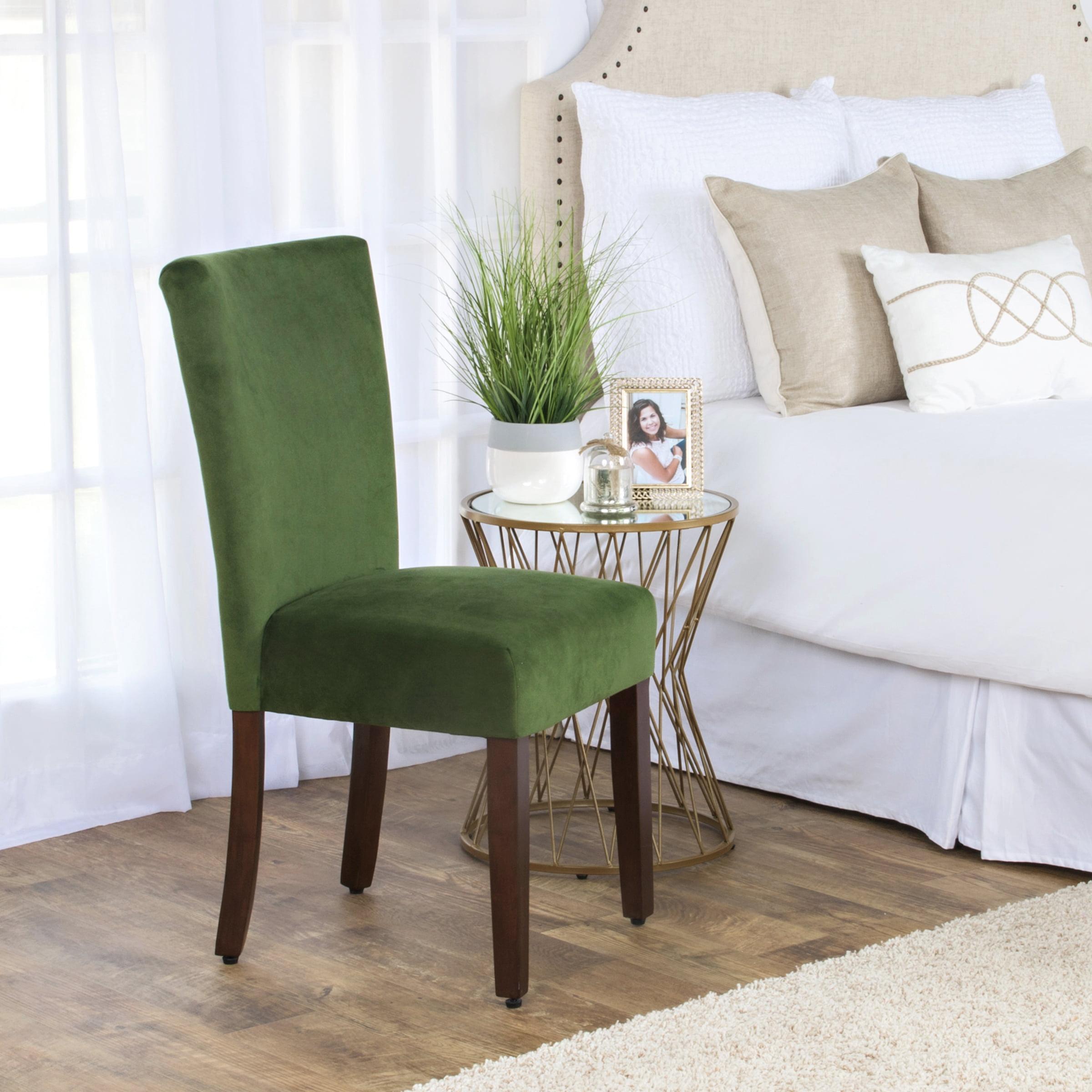 Homepop Velvet Parson Dining Chair(set O