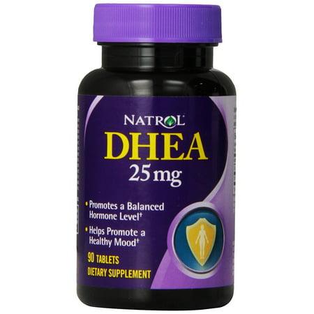 Tabletas de 25mg de DHEA 90-Count de EEUU Natrol