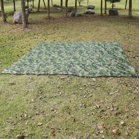 Qiilu Waterproof UV protection Extra Heavy Duty Shade Sail Sun Canopy Outdoor , Waterproof  Shade, Tent Tarp - image 6 of 7