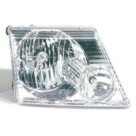 97 Ford Explorer Xlt (Go-Parts » 2002 - 2005 Ford Explorer Front Headlight Headlamp Assembly Front Housing / Lens / Cover - Right (Passenger) Side - (Eddie Bauer + Limited + NBX + Postal + XLS + XLT) 1L2Z 13008 AA) )