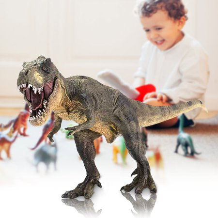 Vivid Tyrannosaurus Rex Jurassic Dinosaur Toy Figure Animal Model Kid Halloween