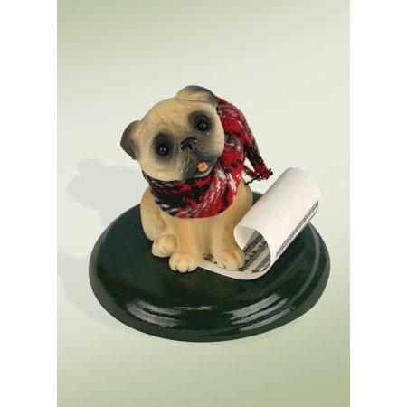 Byers' Choice Pug Dog Figurine
