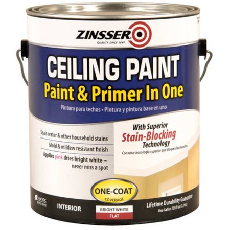 Zinsser Ceiling Paint (Best Way To Paint Wall Near Ceiling)