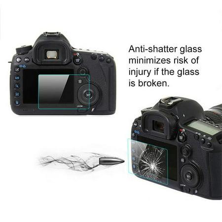 Camera Protecting Tempered Glass LCD Screen Film For OLYMPUS EM10-2/EM5-2 - image 2 de 8