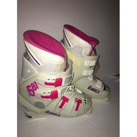 Nordica #581 High Performance Ski Boots Size 7 284mm Made in Italy FAST SHIP