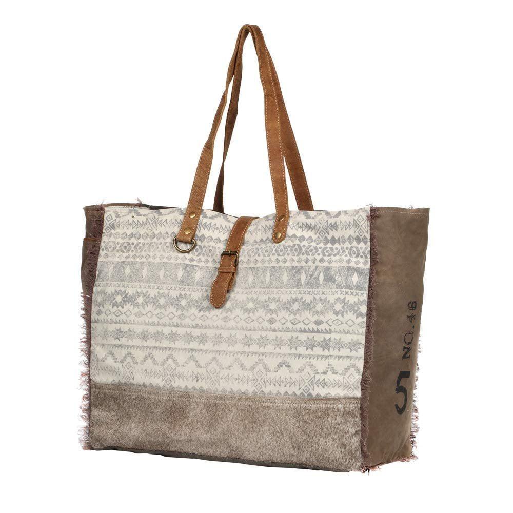 Myra Bag Myra Bag Offhand Upcycled Canvas Cowhide Leather Weekender Bag S 1275 Walmart Com Walmart Com Myra provides a wide range of canvas, leather & hair on products. myra bag offhand upcycled canvas cowhide leather weekender bag s 1275