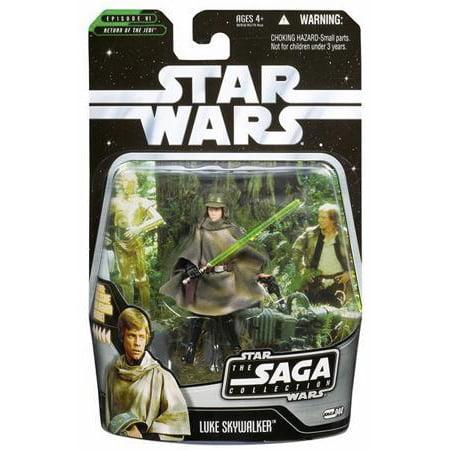 Star Wars Saga Collection 2006 Luke Skywalker Action Figure [Endor]