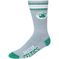 Boston Celtics For Bare Feet Reverse 4 Stripe Deuce Crew Socks - L