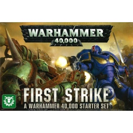 40,000: First Strike, Collect Build Play Paint By