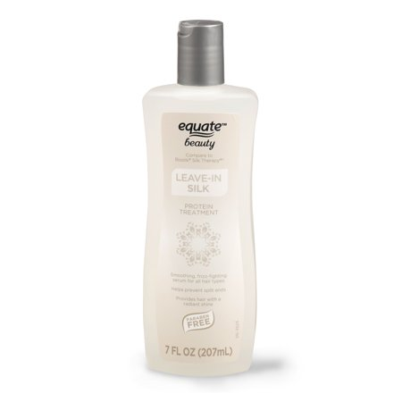 Equate Beauty Leave-in Silk Protein Treatment, 7 Oz