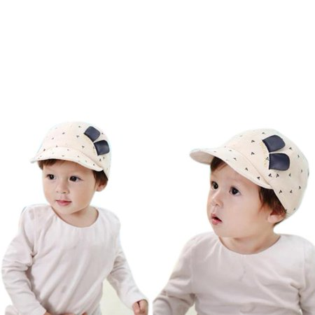 Outtop Kids Baby Bunny Rabbit Visor Baseball Cap Cotton Peaked (Kid's Magician Hat With Rabbit)