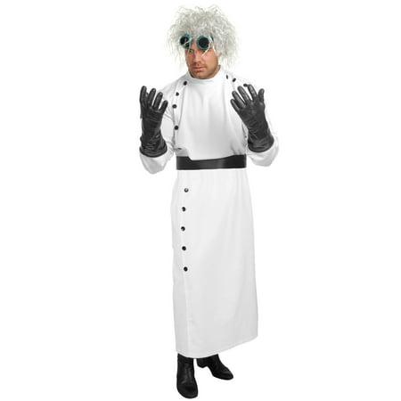Men's Mad Scientist Costume - Mad Scientist Coat