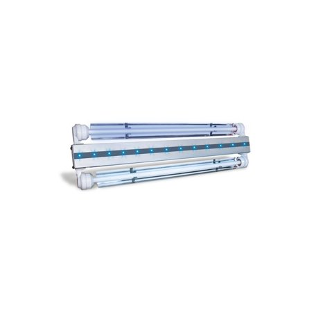 23 in. 2 x 24 Watt HO - 15 LED Aruba Sun 2 Aquarium Light Kit
