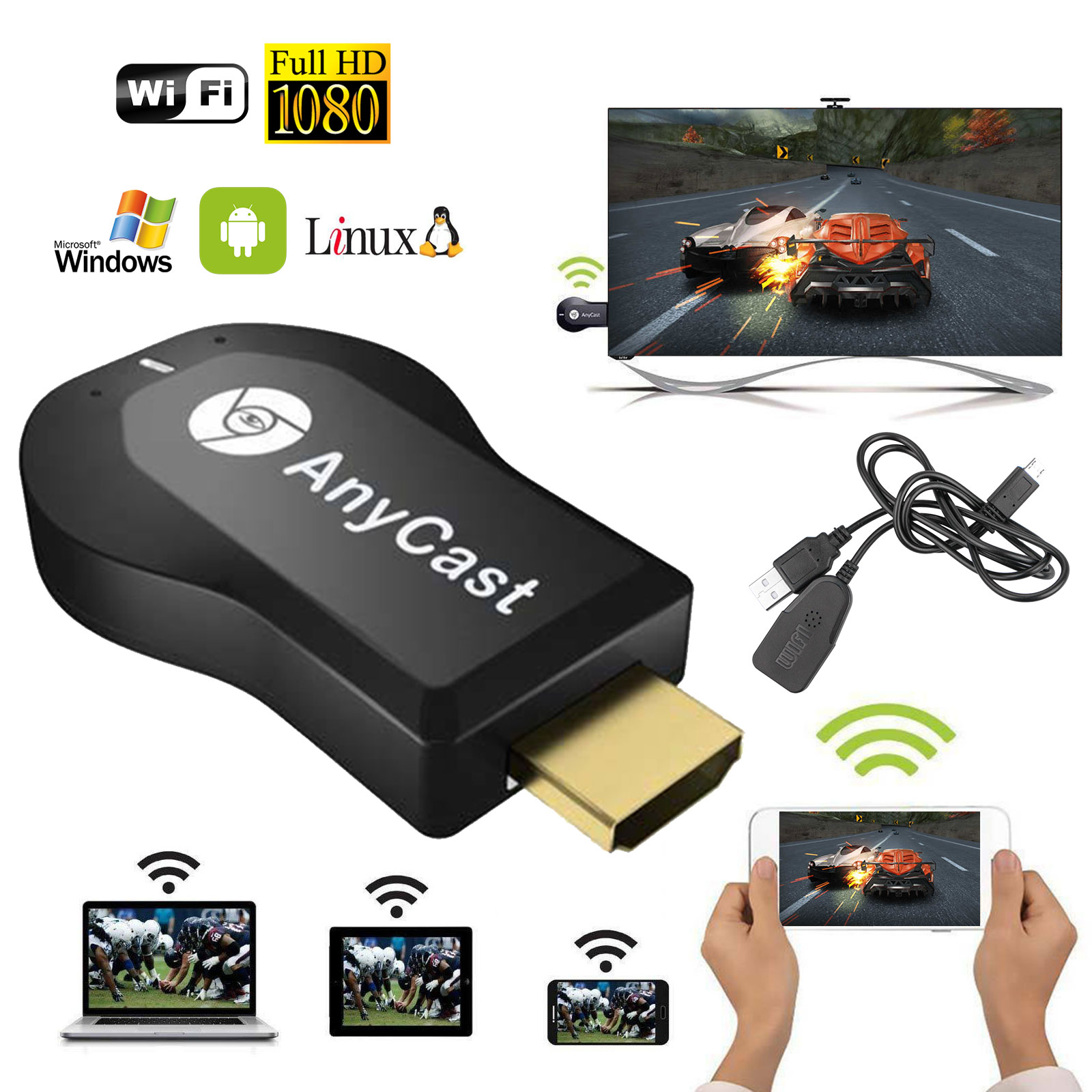 HDMI Dongle Anycast Wifi