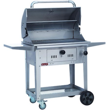 Bull Bison 30 Inch Charcoal Grill on Cart ()