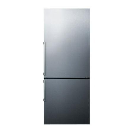 - Summit FFBF286SS 16.8 Cu. Ft. Energy Refrigerator w/ Bottom Freezer