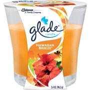 Glade Hawaiian Breeze Candle Air Freshener, 3.4 oz