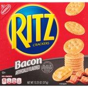 Nabisco Ritz Bacon Flavored Crackers Seasoned with Black Pepper, 13.3 Oz.