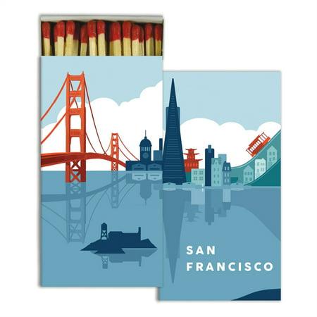 HomArt - Match Box Set of 2 - San Francisco