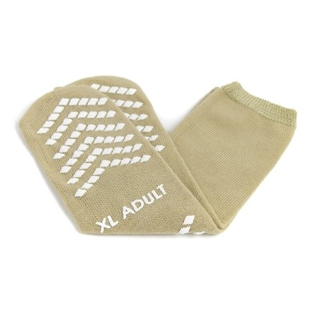 - Extra Large Slipper Socks McKesson Adult Above the Ankle - Bariatric, Extra Wide - 1 Pair / Pair - 16341000