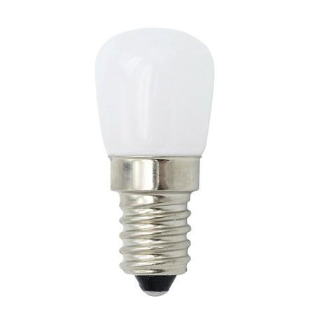 E14 Mini LED Light Bulb 1.5W SES Fridge Freezer LED Lamp Spotlight Bulbs Chandeliers Lighting AC220V (Warm white)