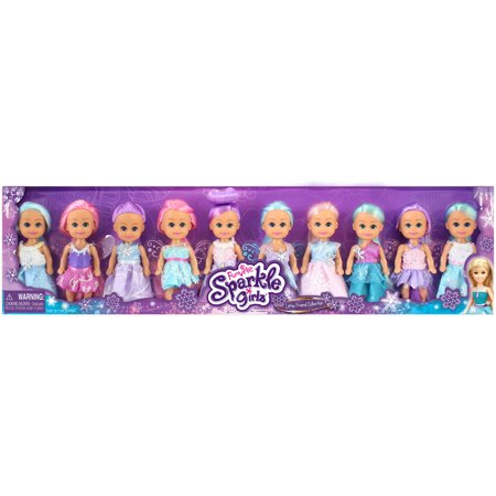 Little Friend Collection Winter Princess and Fairy, 10pk