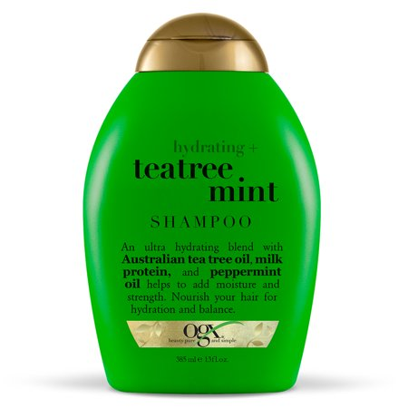 Original Australian Tea Tree - OGX® Hydrating + TeaTree Mint Shampoo, 13 Fl OZ