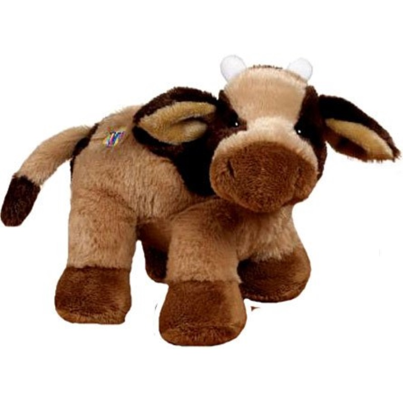 Webkinz Plush Stuffed Animal Brown Cow