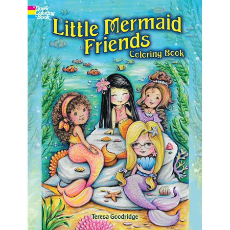 Little Mermaid Friends Coloring Book](The Little Mermaid Halloween Coloring Pages)