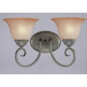 Charlton Home Mcleod 2-Light Vanity Light