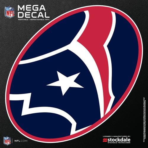 "Houston Texans 12""x12"" Mega Decal - image 1 of 1"