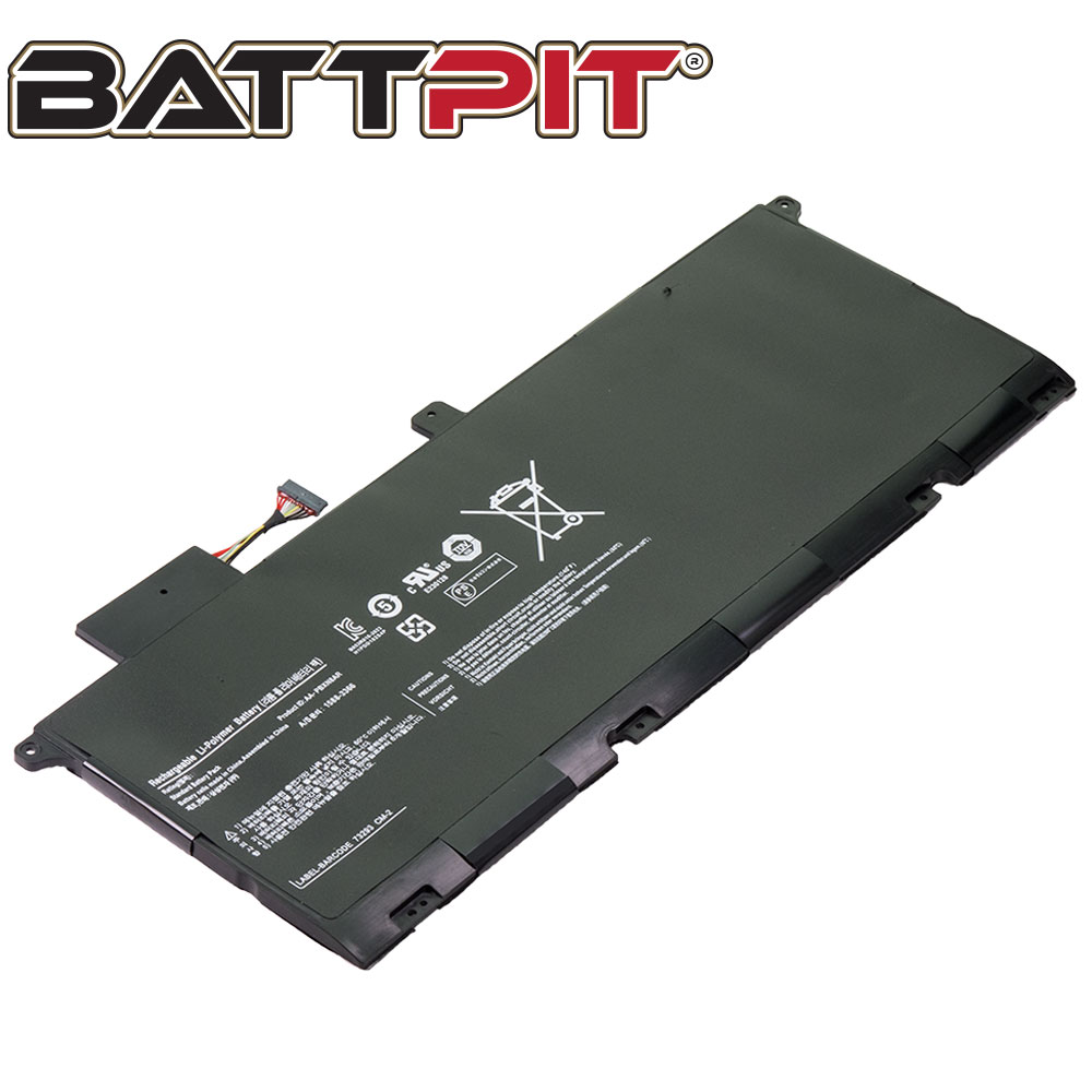 BattPit: Laptop Battery Replacement for Samsung 900X4D-A01, AAPBXN8AR, AA-PBXN8AR, PBXN8AR (7.4V 8400mAh 62Wh)