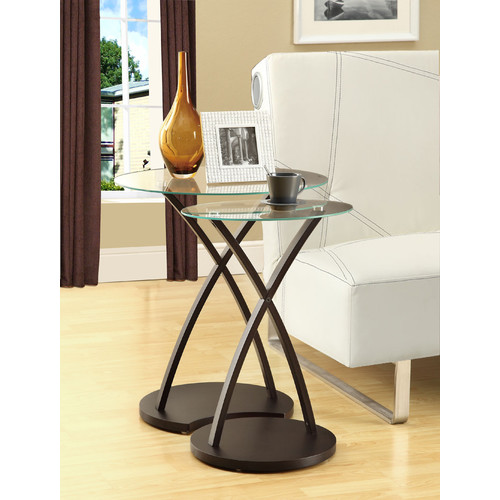 Wildon Home 2 Piece Nesting Table by
