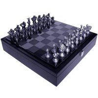 Street Fighter 25th Anniversary Resin Chess Set w/ Game Board