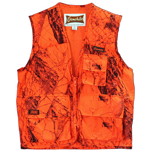 Hide Sneaker Big Game Vest, XX-Large, Blaze Camouflage