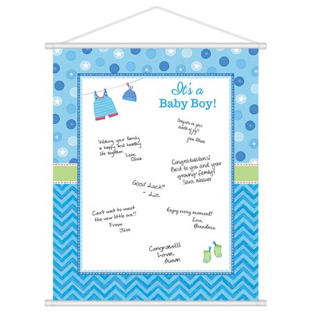 shower with love baby boy sign in each baby shower party supplies