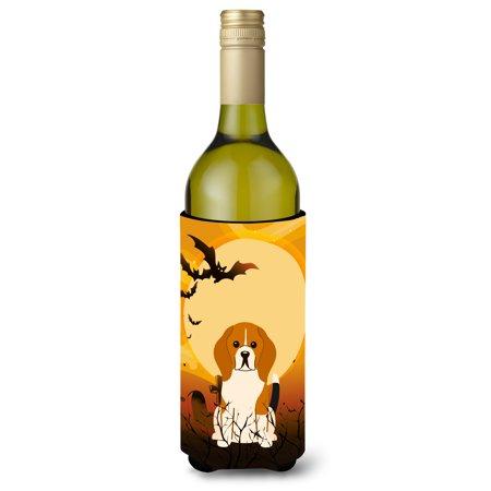 Halloween Beagle Tricolor Wine Bottle Beverge Insulator Hugger BB4306LITERK](Halloween Beetle)