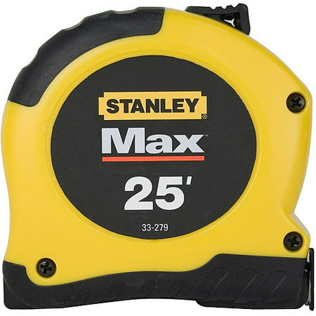 STANLEY 33-279S MAX 25' Tape (Fractional Tape Measure)