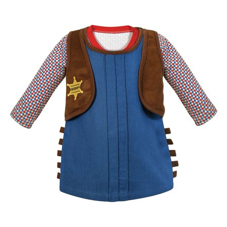 stephan baby 612044 cowgirl outfit - 12-18 months