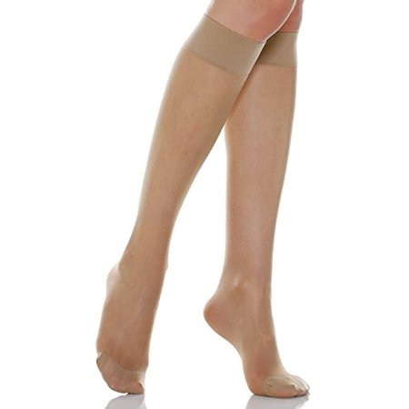 89e18e2206f 8-15 mmHg Lite Compression Knee High Stockings
