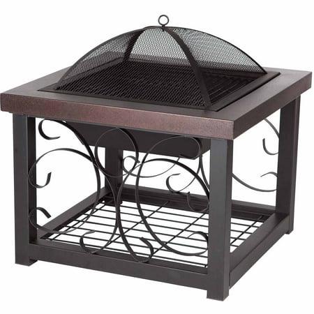 Fire Sense 61331 Cocktail Table/Fire Pit Bronze