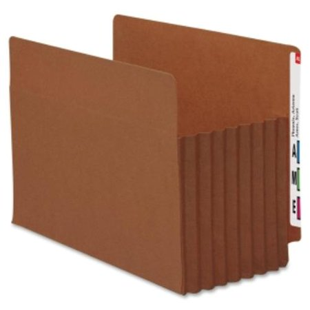- Smead 73795 Redrope Extra Wide End Tab Tuff Pocket File Pockets With Reinforced Tab - Letter - 8.50