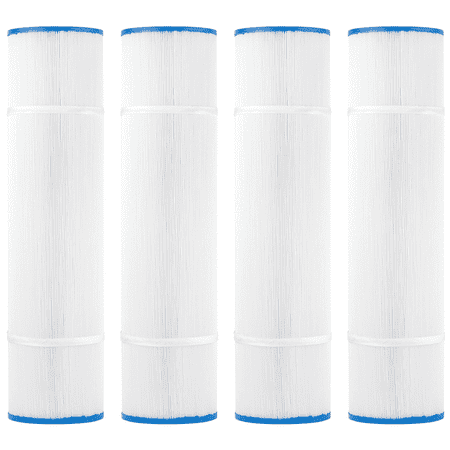 Image of Clear Choice Pool Spa Filter 7.00 Dia x 19.63 in Cartridge Replacement for Hayward CX580-XRE C-570 Baleen AK-60450, [4-Pack]