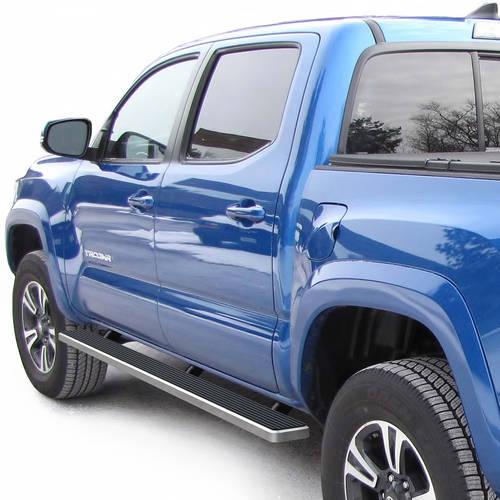 """2005-2018 Toyota Tacoma Double Cab 4"""" Brushed iStep Side Step"""