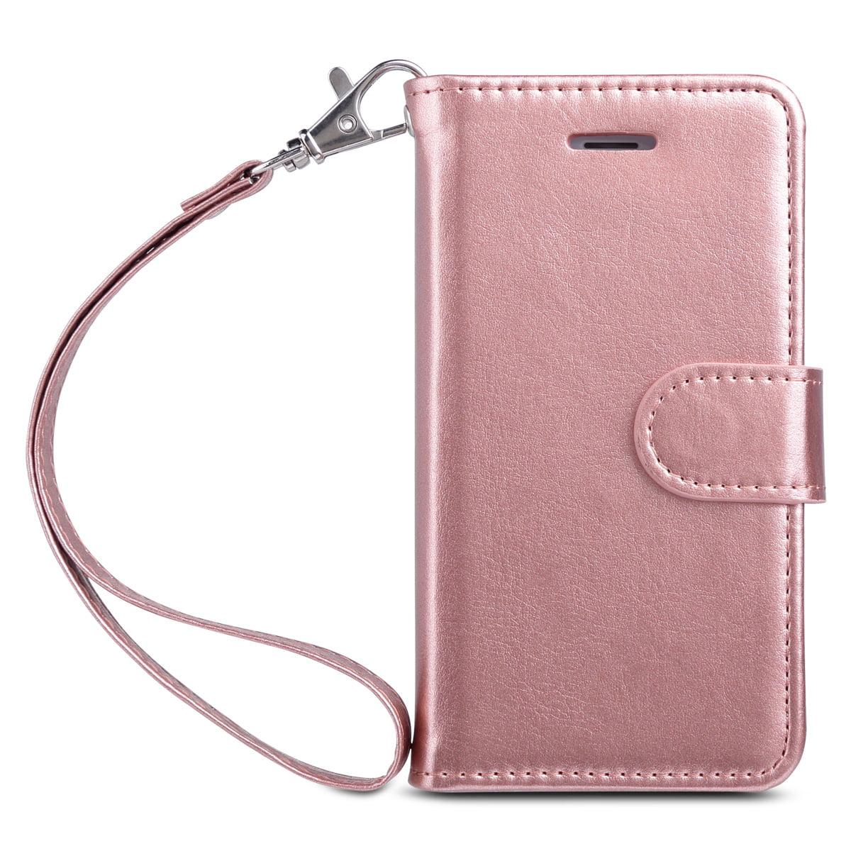 iPhone 5s Case, ULAK iPhone SE Case Wallet, Premium [Multi- Card Slots ] Magnetic Leather Hybrid Flip Wallet Case Cover for Apple iPhone 5S 5 SE