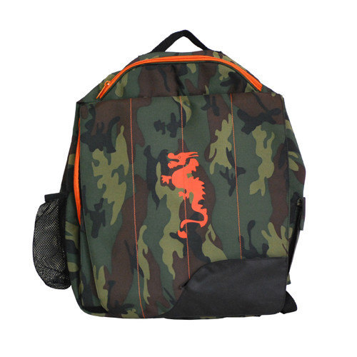 Diaper Dude Little Dude Dragon Backpack in Camouflage