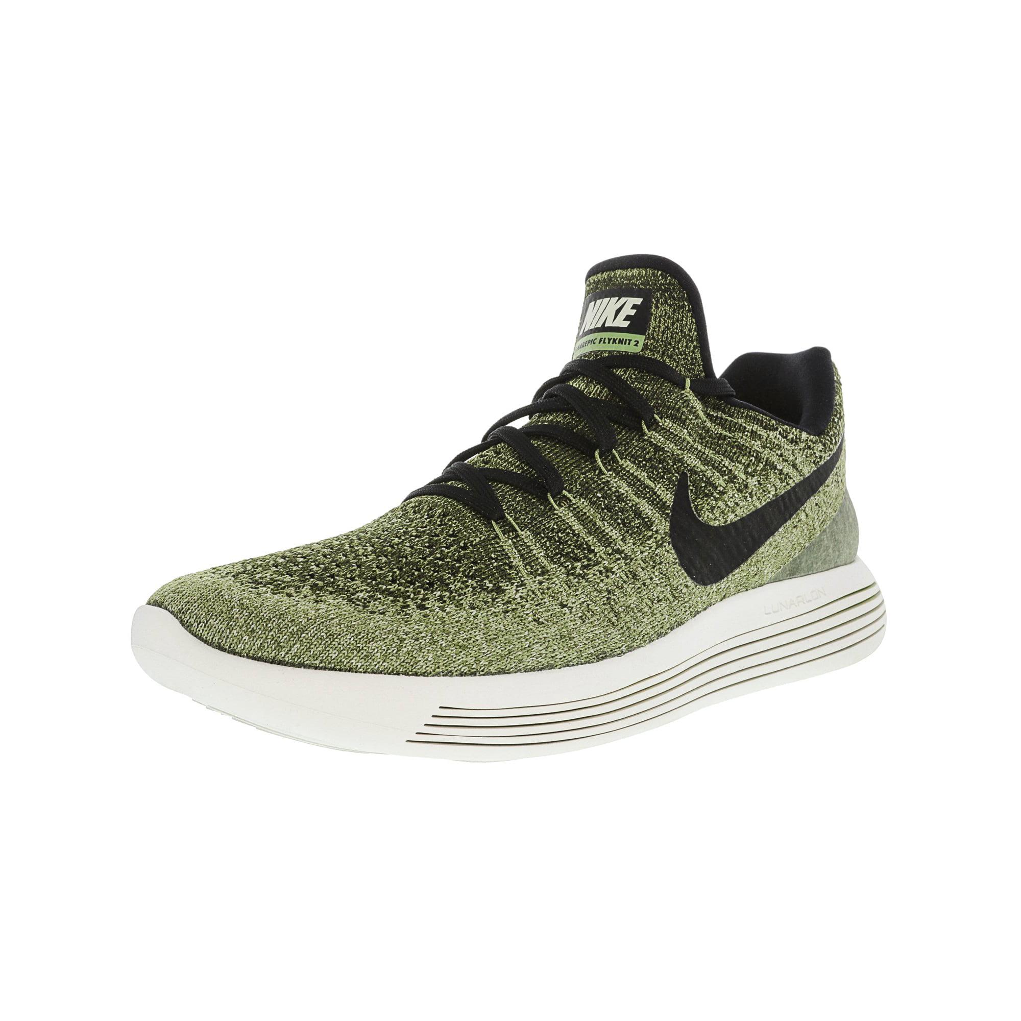 d78aa5aa02c9d Nike Men's Lunarepic Low Flyknit 2 Rough Green / Black Palm Ankle ...