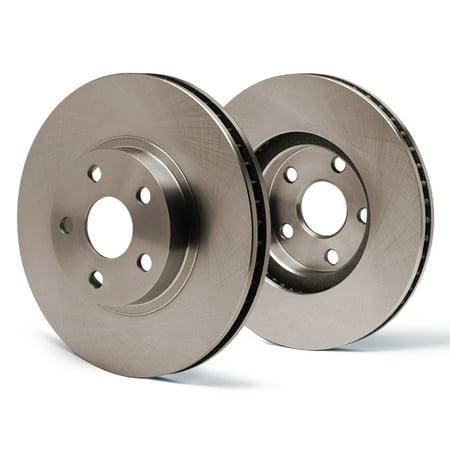 Max Brakes Rear OE Series Rotors Premium Brake Rotors SY018042 | Fits: 2005 05 Chrysler Sebring Coupe 3.0L Models - image 5 de 5